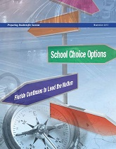school choice options brochure cover